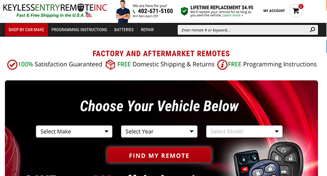Keyless Entry Remote Inc.
